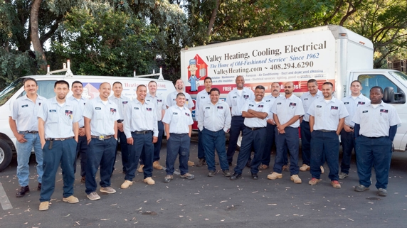 Valley Heating, Cooling, Electrical and Solar Team